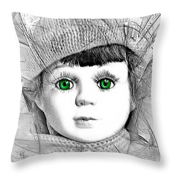 L003 Throw Pillow