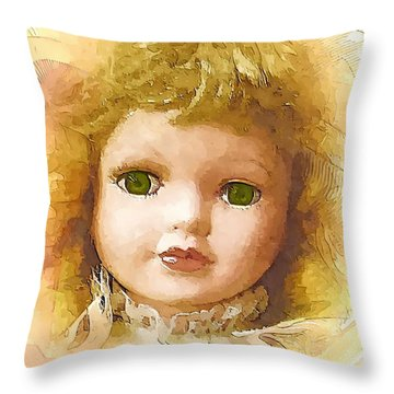 L004 Throw Pillow