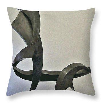 La Chaise Throw Pillow by John Neumann