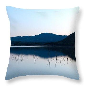 La Estanca-perdiguero 1 Throw Pillow by RicardMN Photography