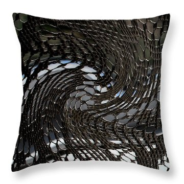 Lacey Abstract2 Throw Pillow