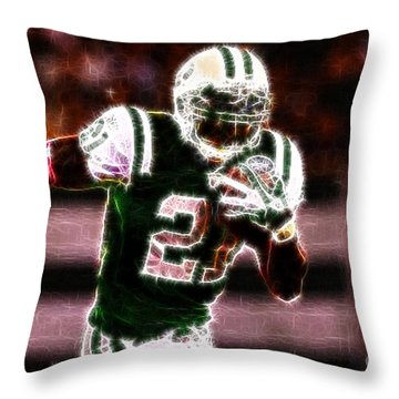 Ladainian Tomlinson - 01 Throw Pillow by Paul Ward
