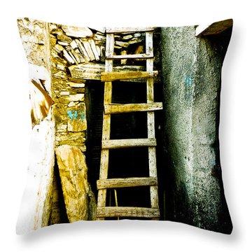 Ladder To Throw Pillow