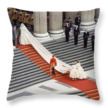 Lady Diana Spencer, 1981 Throw Pillow by Granger