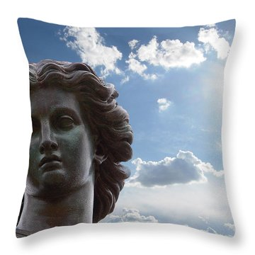 Lady Of The Waters Throw Pillow