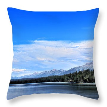 Lake Alva Throw Pillow