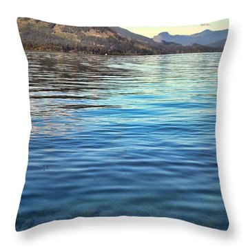 Lake Cowichan Bc Throw Pillow