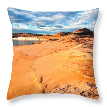 Lake Powell Serenity Throw Pillow by Thomas R Fletcher