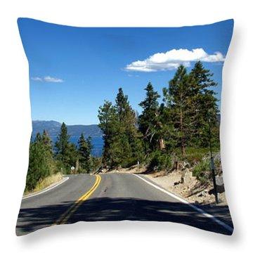 Lake Tahoe Throw Pillow by Jeff Lowe