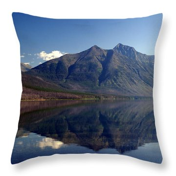 Lakr Mcdonald Morning Throw Pillow by Marty Koch