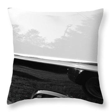 Land Shark Throw Pillow by Luke Moore