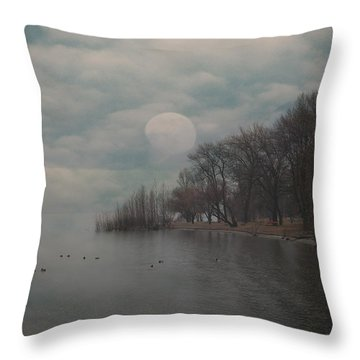 Landscape Of Dreams Throw Pillow by Joana Kruse