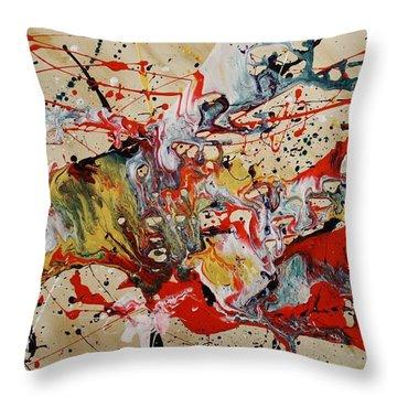 Lassoed A Tornado Throw Pillow