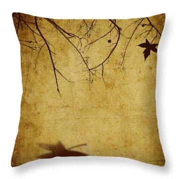 Last Breath Of Autumn Throw Pillow by Svetlana Sewell