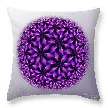 Last Dream Mandala Throw Pillow