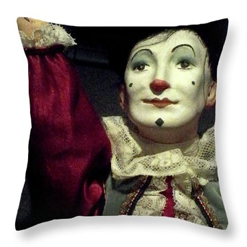 Throw Pillow featuring the photograph Late Night Pilgrim by Newel Hunter