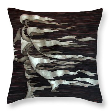 Layers Cl Throw Pillow
