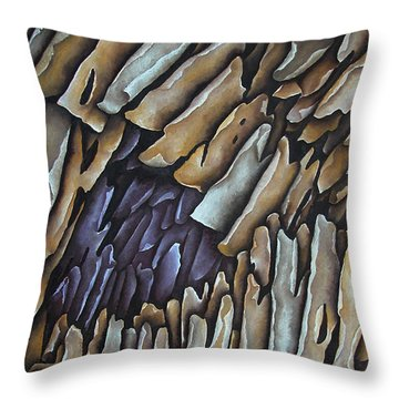 Layers Clxii Throw Pillow