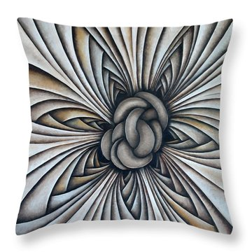 Layers Clxxxvii Throw Pillow