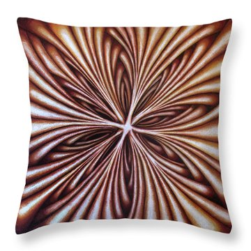 Layers Cxxi Throw Pillow