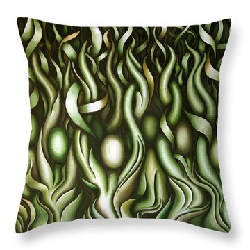 Layers Lix Throw Pillow