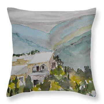 Le Liban Perdu 2 Throw Pillow by Marwan George Khoury