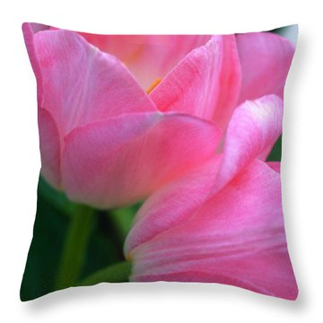 Lean On Me Throw Pillow by Kathy Yates