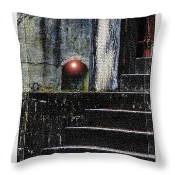 Leave The Light On Throw Pillow