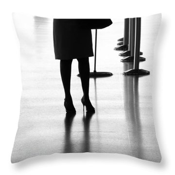 Leaving On A Jet Plane Throw Pillow by Rene Triay Photography
