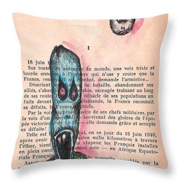 Leclerc Throw Pillow by Jera Sky