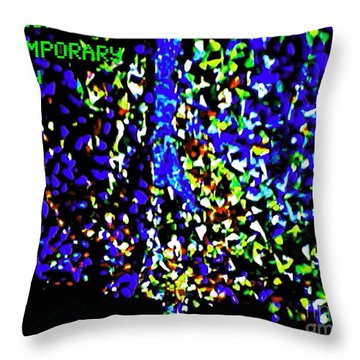 L'ecstasie Et L'agonie D'absolom Throw Pillow by Contemporary Luxury Fine Art