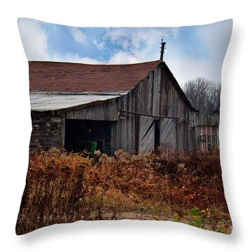 Left Behind Throw Pillow by Ms Judi