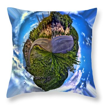 Left Or Right Throw Pillow by Adam Vance