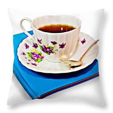 Leisure Time Throw Pillow by Susan Leggett
