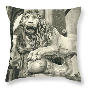 Leone Throw Pillow by Norman Bean