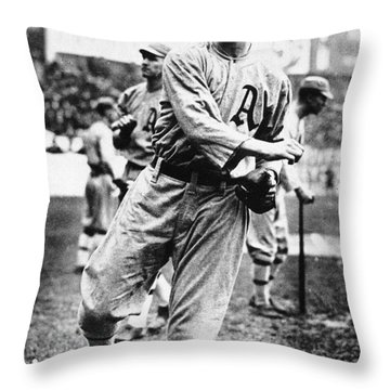 Leslie Bush (1892-1974) Throw Pillow by Granger