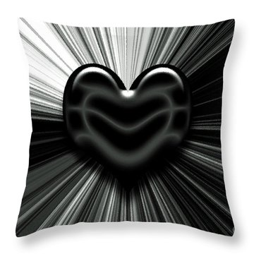 Let Love Shine Throw Pillow
