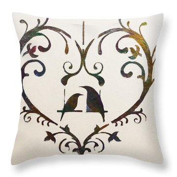 Let Me Count The Ways Throw Pillow by Dolores  Deal