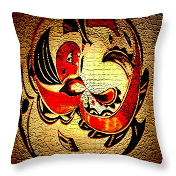 Let Me Think Throw Pillow