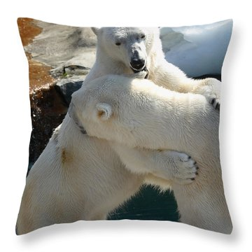 Throw Pillow featuring the photograph Let Me Whisper In Your Ear by Cindy Haggerty