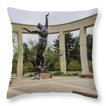 Let's Not Forget Throw Pillow