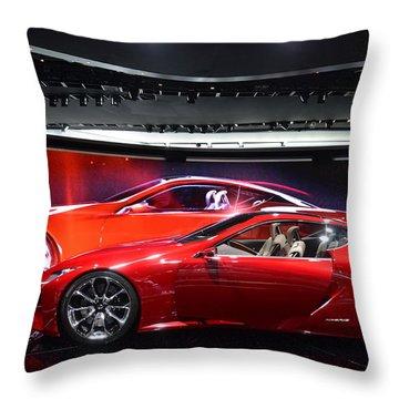 Lexus Lf-lc Throw Pillow
