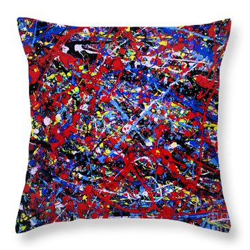 Release Of Pain Throw Pillow