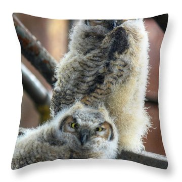 Life After People Throw Pillow by Lori Deiter