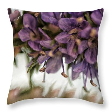 Life Goes On Throw Pillow by Bonnie Bruno