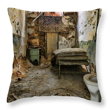 Life In Prison Throw Pillow by Paul Ward