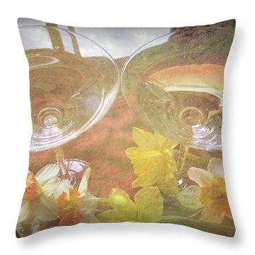 Throw Pillow featuring the photograph Life's Simple Pleasures by Kay Novy