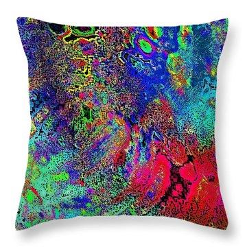 Throw Pillow featuring the photograph Lifesaver by David Pantuso
