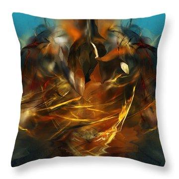 Lift Off Throw Pillow by David Lane