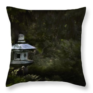 Light And Tranquility Throw Pillow